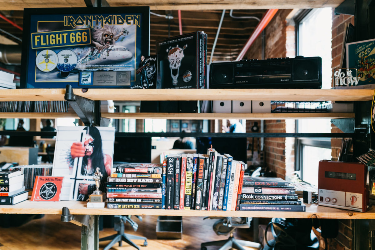 Inside Banger Films' renovated warehouse in the Junction Triangle
