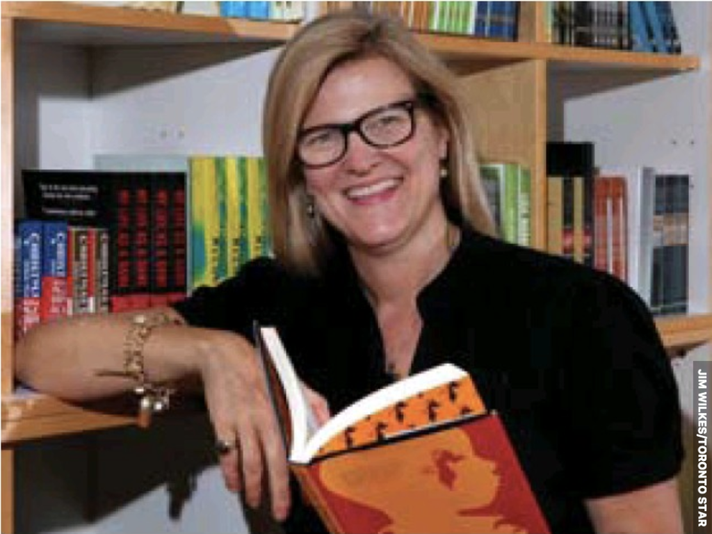 House of Anansi Press president Sarah MacLachlan has high hopes for the Toronto publishing house's new space on Sterling Rd.