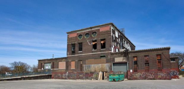 The former Symes Road Incinerator will become the new home of Junction Craft Brewing's brewery and tap room in 2017. (Junction Craft Brewing)