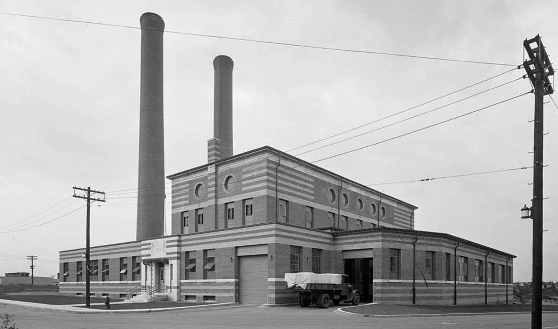 The Symes Road Destructor, c. 1936. CITY OF TORONTO ARCHIVES